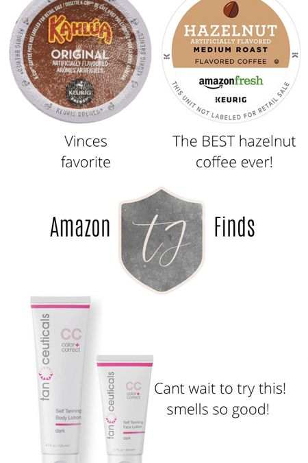 Amazon finds for the week! Best coffee ever! Self tanner! (It smells soooo good!) #LTKbeauty #LTKunder50 @liketoknow.it.home Screenshot this pic to get shoppable product details with the LIKEtoKNOW.it shopping app http://liketk.it/3aSid #liketkit @liketoknow.it