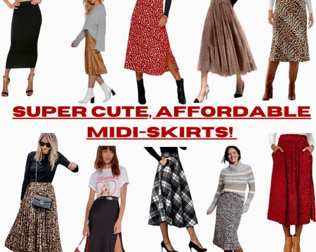 So many stylish, trendy and affordable midi-skirts here!!  Walmart. Amazon. Red Dress Boutique. Nasty Gals. #LTKgiftspo #LTKsalealert #LTKunder50 #liketkit @liketoknow.it @liketoknow.it.home Screenshot this pic to get shoppable product details with the LIKEtoKNOW.it shopping app !!! http://liketk.it/34ec3