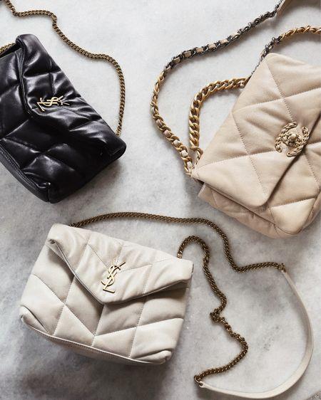 Designer handbags, Chanel, YSL, crossbody, shoulder bags, neutral handbag, #stylinbyaylin  #LTKitbag #LTKstyletip