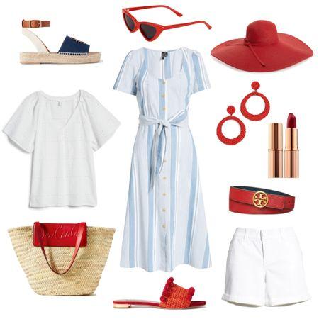 Cute Fourth of July looks!  #4thofjuly #fourthofjuly #redwhiteandblue   #LTKSeasonal #LTKunder100 #LTKstyletip