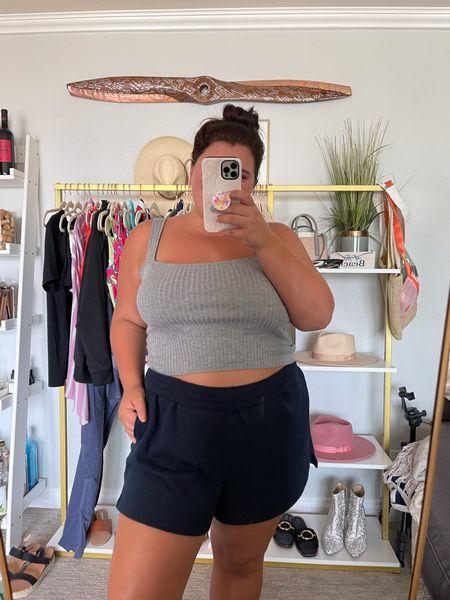 Shorts and crops all summer long! 🙌🏼  #LTKunder50 #LTKcurves