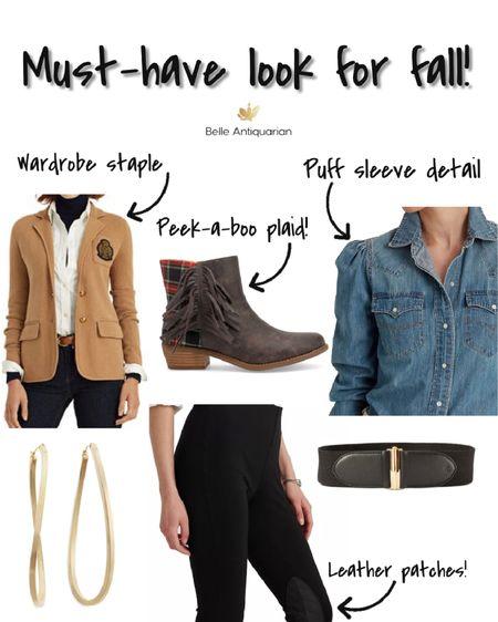 Wardrobe basics for fall!  #LTKworkwear #LTKshoecrush #LTKstyletip