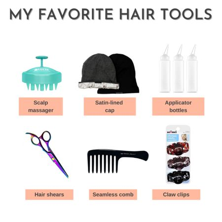 These are my favorite hair tools I use on my relaxed hair. Some I use often, others just when needed.  #LTKbeauty