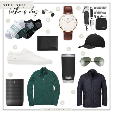 Father's Day gift guide, gift for dad, gift for him, menswear, watch, white sneakers, speaker, yeti, sunglasses, hat, accessories   #LTKSeasonal #LTKmens #LTKstyletip