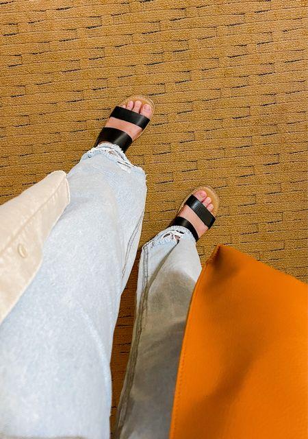 It's still warm enough for sandals in NYC, but not for long!   #LTKitbag #LTKSeasonal #LTKshoecrush