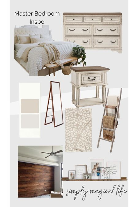 Neutral modern farmhouse master bedroom inspiration http://liketk.it/3fcUj #liketkit @liketoknow.it #LTKhome #LTKstyletip #LTKsalealert