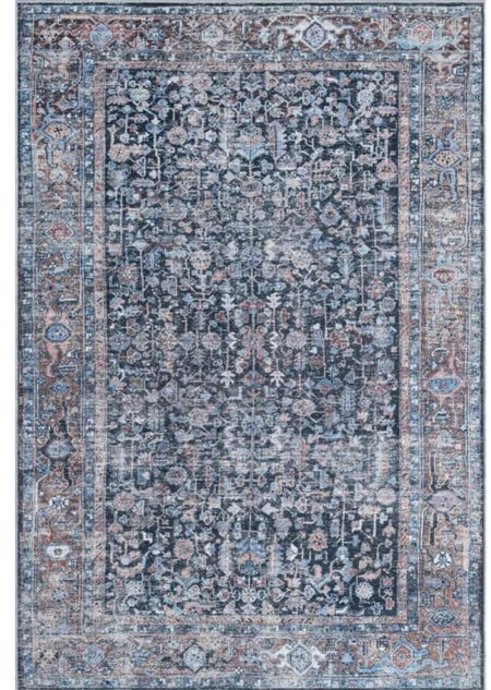 We love our new washable rug from Walmart! So great for high traffic areas  #LTKhome #LTKstyletip
