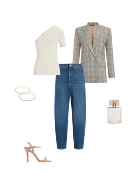 Summer Jean style: jeans with top (make it crocheted tank or crop top or tucked in button up) throw over shoulders light weight blazer #ltkjeanstyle #ltkjeans #ltkday #expressjeans http://liketk.it/3hjfZ #liketkit @liketoknow.it #LTKDay #LTKunder100 #LTKstyletip Shop your screenshot of this pic with the LIKEtoKNOW.it shopping app