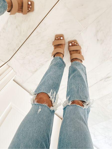 Favorite Abercrombie jeans wearing size 26 //   #LTKsalealert #LTKSale #LTKunder100