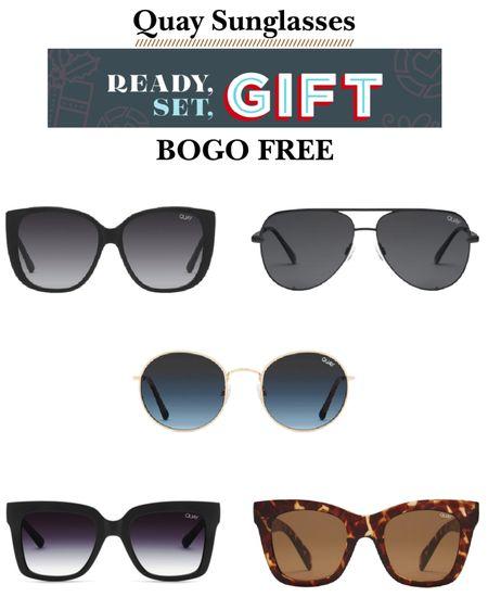 Quay sunglasses BOGO free! Black Friday sale. http://liketk.it/31YnS #liketkit @liketoknow.it #LTKgiftspo #LTKunder50 #LTKsalealert