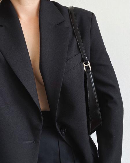 wardrobe essential: the oversized black blazer   #LTKworkwear #LTKeurope