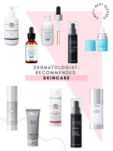 Skincare, Revision skincare, Skinceuticals, Lumiere, best skincare   These dermatologist-recommended products are the ones I use everyday!  #LTKbeauty