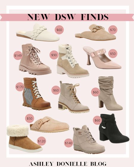 New DSW finds - mules + boots!  #LTKstyletip #LTKshoecrush #LTKSeasonal