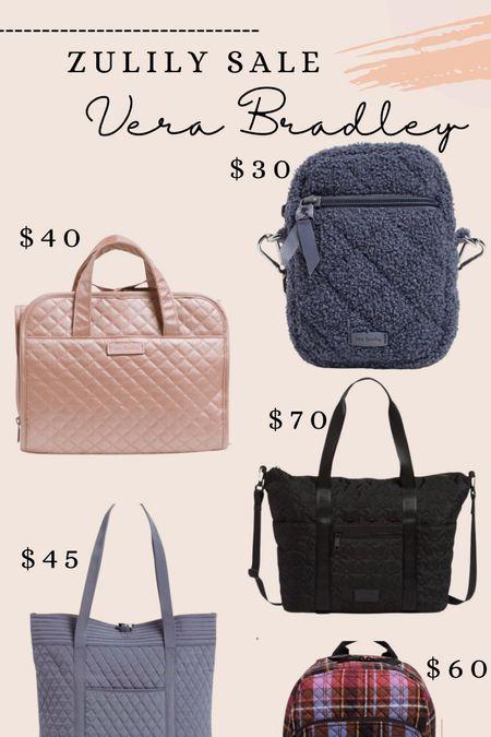 Vera Bradley bags on sale on Zulily!