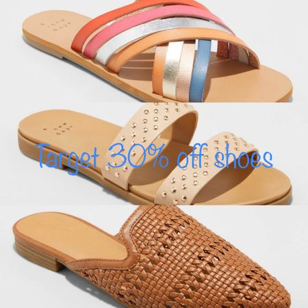 Another week, another amazing shoe sale! These are the slides I want in the sale...the cutest most colorful strappy slides and the studded slides are perfect! I also love these cognac mules, anything cognac has my heart. http://liketk.it/2Nihk #liketkit @liketoknow.it #LTKsalealert #LTKshoecrush #LTKspring Screenshot this pic to get shoppable product details with the LIKEtoKNOW.it shopping app