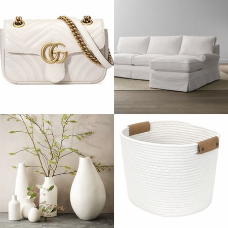 Fashion and home decor. Summer is all about white.  #LTKhome #LTKSeasonal