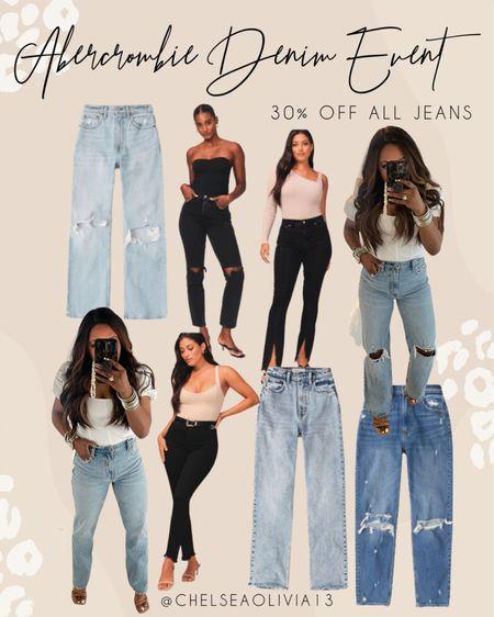 Abercrombie denim event! My absolute favorite jeans ever!!  #whitetshirt #bodysuite #falloutfit  #DenimSale #jeansonsale #Denim #jeans #abercrombiejeans #momjeans #highrisejeans #sale #nsale #nordstormsale #fallfashion #fall #backtoschool #fallbreak #gameday #footballseason  #liketkit  @shop.ltk  Follow my shop on the @shop.LTK app to shop this post and get my exclusive app-only content!  #liketkit   Follow my shop on the @shop.LTK app to shop this post and get my exclusive app-only content!  #liketkit #LTKstyletip #LTKunder100 #LTKsalealert @shop.ltk