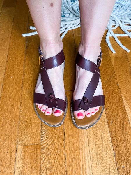 The sandals are really fun for summer! And they come in lots of other colors!  #LTKSeasonal #LTKshoecrush