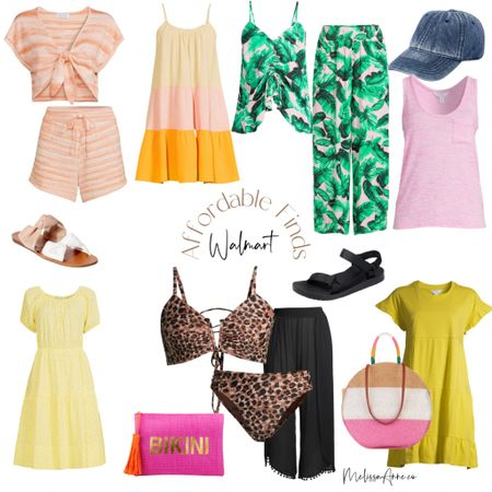 Affordable summer Walmart finds! Summer dresses, swimsuits, beach attire, beach bags, sandals. Walmart has got your covered for affordable finds. http://liketk.it/3hcxN #liketkit @liketoknow.it