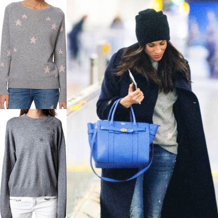 Meghan inspired star sweater at the NSALE #sale #nordstrom #anniversary #clearance #fall #pullover #cozy #crewneck #top   #LTKsalealert #LTKstyletip