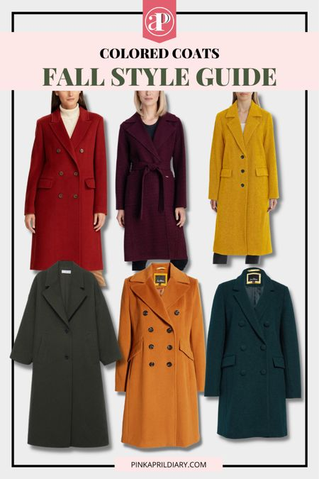 Perfect way to add colors to your fall outfit - Warm tone fall coats   #LTKstyletip