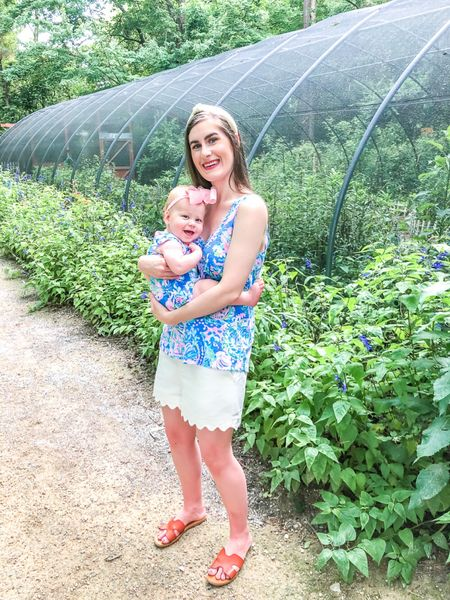 Matching @lillyPulitzer at the zoo with my girl. Originally I was going to put her in something super casual, but decided she should wear her Lilly and not save it. They grow so fast, so you might as well dress them in your favorites. 💕 We had the best weekend with my little fam and celebrated our anniversary early http://liketk.it/3hzzC #liketkit @liketoknow.it #LTKbaby