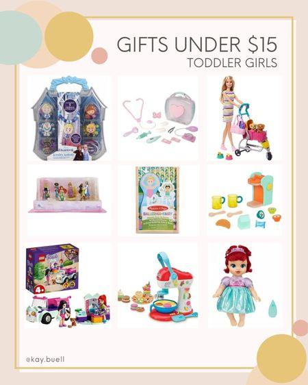 So many cute toddler girl gifts under $15 ❤️  #LTKHoliday #LTKGiftGuide #LTKkids