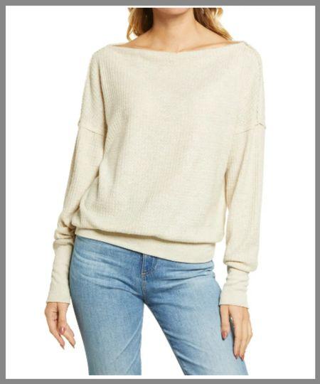Nordstrom anniversary sale cozy fall wardrobe sweater.  #LTKSeasonal #LTKsalealert #LTKunder50