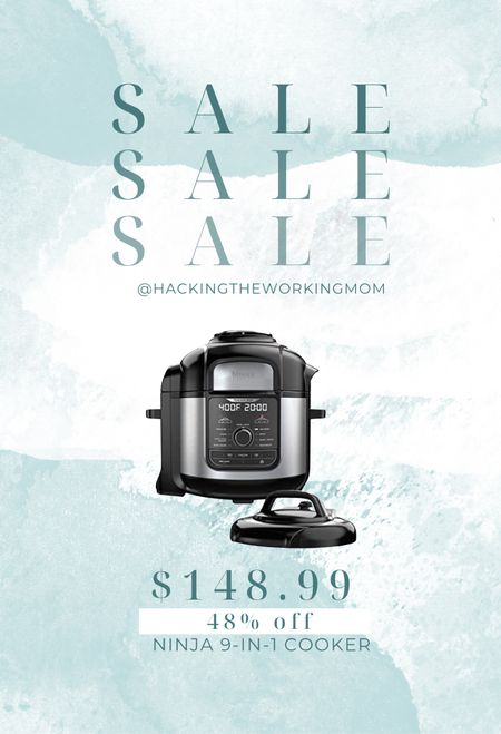 Best slow cooker and instapot along with seven other features! Personally own and love!!!! $100 off!!  #LTKfamily #LTKsalealert #LTKhome