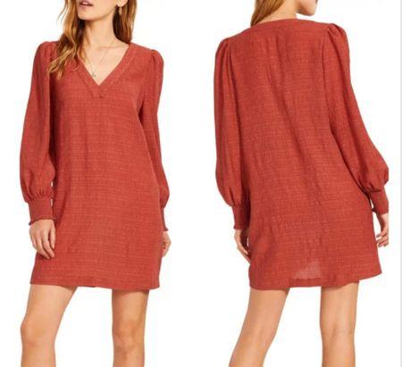 Long sleeve dress   #LTKstyletip #LTKunder100