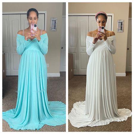 Beautiful dresses from Amazon for under $60!  #LTKbump #LTKunder100 #LTKbaby