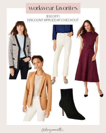 Ann Taylor favorites $30- $50 off each item!   #LTKworkwear #LTKunder100 #LTKsalealert