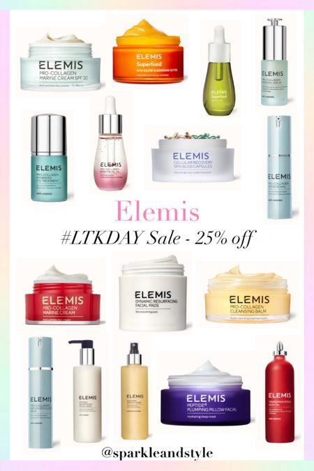 LTK Day Sale: Elemis - 25% off    http://liketk.it/3hvy8 @liketoknow.it #liketkit #LTKDay #LTKsalealert #LTKbeauty   Skincare, eye treatment serum, face oil, body oil, toner, face wash, facial pads, cleansing butter, cleaning balm, spf moisturizer