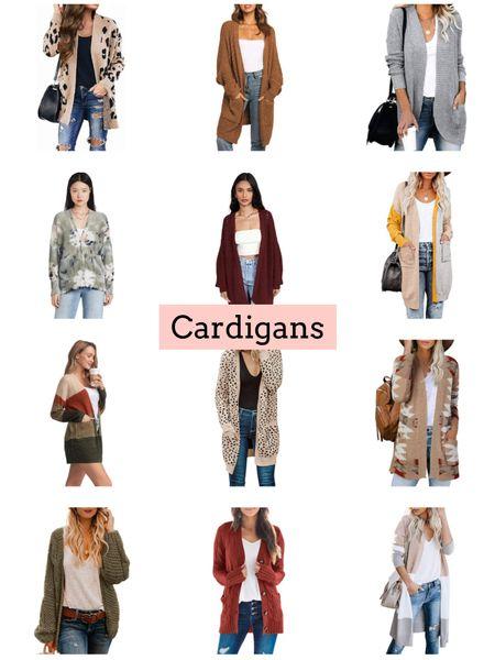 Cardigans   #LTKSeasonal #LTKunder50 #LTKunder100