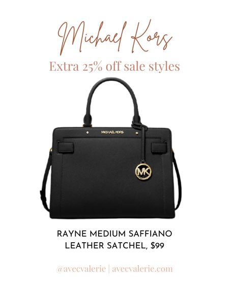 A mentionable item on sale is the Michael Kors Rayne Medium Saffiano Leather Satchel. The bag is a spacious satchel featuring Saffiano leather, gold-tone hardware, and a detachable crossbody strap. The interior of the satchel is spacious and will keep everything organized. You can easily carry the bag during the day and into the night. Everyone will be envying you while you carry this bag. Originally $448, the Rayne Medium Saffiano Leather Satchel is now on sale for $99.  #LTKSeasonal #LTKsalealert #LTKitbag