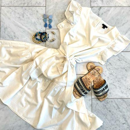 How to style a white dress!     #LTKstyletip #LTKshoecrush