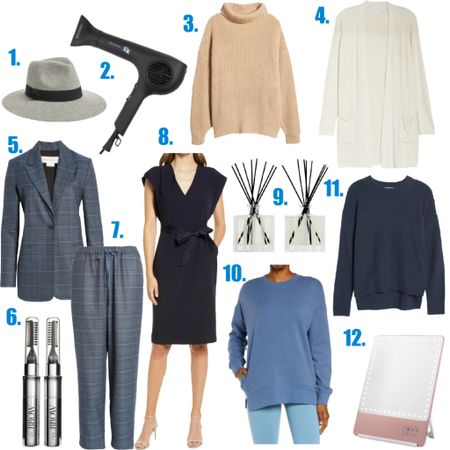 """Tomorrow all @Nordstrom card holders can shop the Anniversary Sale and there IS still a lot to choose from! Here are 12 items across several categories that are still fully stocked. I bought all of them except one-and thinking I may rectify that ASAP! Shop this post by hitting the link in my profile or follow me on the @shop.LTK app!   1//also available in beige 2//fastest, lightest hair dryer 3//perfect chunky sweater to wear over leggings 4//like wearing a cloud 5//great over a tank with jeans or with the matching pants 6//skip micro blading and use this 7//wear with the blazer or a navy sweater 8//was """"influenced"""" to get this dress! 9//still have my set from last year! 10//a sweatshirt with pockets!! 11//gorgeous subtle texture 12//great mirror for home or travel   #nsale #nordstrom #anniversarysale #fallfashion #browserum #sweaters #sweaterweather #LTKbeauty #LTKunder100 #LTKsalealert #liketkit @liketoknow.it http://liketk.it/3jL0a"""