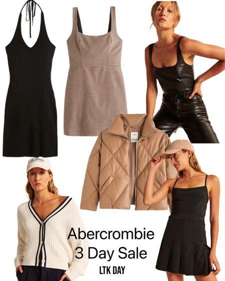 My favorites at Abercrombie! So many neutrals 🖤🤎🤍  #LTKSeasonal #LTKSale #LTKGiftGuide