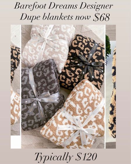 The Barefoot dreams dupe blanket is now $68 during the LTK Day Sale    #LTKhome #LTKunder100 #LTKday   http://liketk.it/3huRH #liketkit @liketoknow.it    Hermès dupe blanket Cozy blankets  Gifts for mom  Gifts for sister in law  Hostess gift  Housewarming gift  Barefoot dreams dupe  Hermès  Hermès dupe blanket  Home decor  Leopard blanket