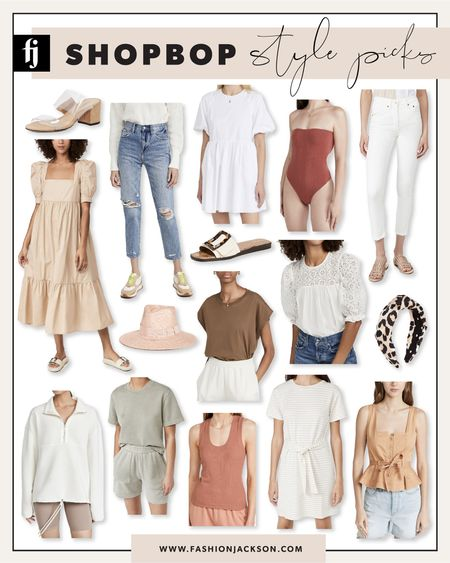 Summer style picks from Shopbop - most under $250! #summerdress #summertops #whitedress #aninebing #sandals #denimshorts #fashionjackson #liketkit http://liketk.it/3kntD  #LTKunder100 #LTKshoecrush #LTKstyletip