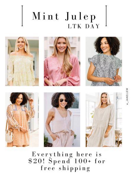 These styles are $20!! Spend $100+ for Free Shipping!  @liketoknow.it http://liketk.it/3hsVt   #liketkit #LTKsalealert #LTKunder50 #LTKstyletip #LTKDay