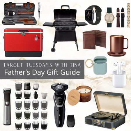 • TARGET TUESDAY'S WITH TINA • • FATHER'S DAY GIFT GUIDE •  This weeks Target Tuesday's with Tina is all about dads!  Men are the hardest to shop for, right?  My dad was impossible to shop for, and Rick is just about as bad!   I hope this gifts you some ideas!   Happy Tuesday sweet friends! 🎯   You can instantly shop all of my looks by following me on the LIKEtoKNOW.it  shopping app (link in bio) I link everything here to keep it all in one place. You can also search #targettuesdayswithtina  Everything is save in my highlights!   @liketoknow.it @liketoknow.it.home @liketoknow.it.family http://liketk.it/3gA2X #liketkit #LTKsalealert #LTKmens #LTKfamily