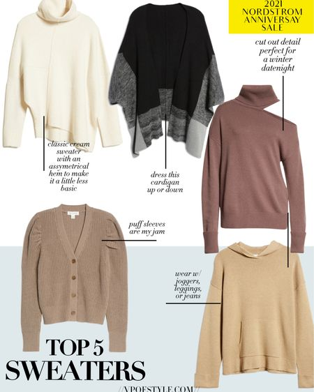 Top sweater picks from the Nordstrom anniversary sale http://liketk.it/3jJFH #liketkit @liketoknow.it #LTKunder100 #LTKunder50 #LTKsalealert