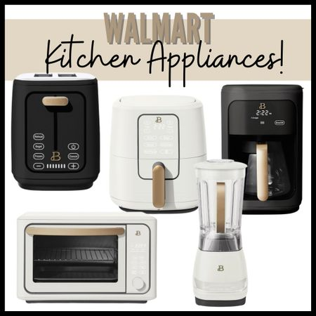 These #walmarthome kitchen appliances are so beautiful! #ad They're such a beautiful, sleek design that will look great in any kitchen! #walmart #drewbarrymore #beautifulappliances   #LTKGiftGuide #LTKhome #LTKunder100