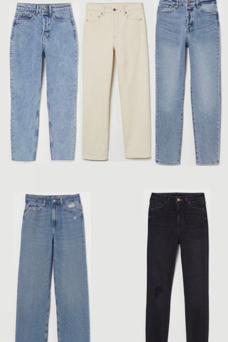 H&M Labor Day Sale. Everything 20% off. All under $50. Women's denim. Women's jeans.  #LTKsalealert #LTKunder50 #LTKSeasonal