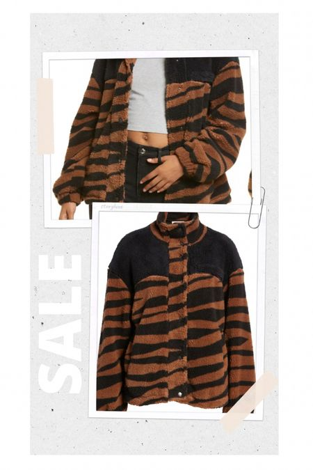 Nordstrom. Thread & supply Wubby jacket on SALE! So cute & comes in different prints   #LTKSale #LTKstyletip #LTKGiftGuide