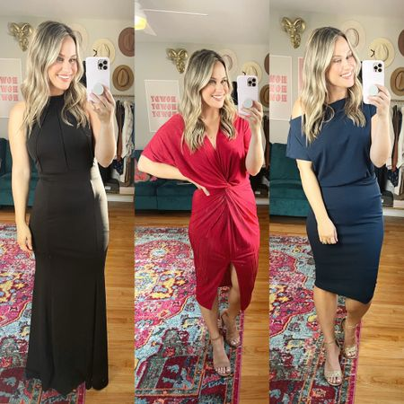 Fall wedding guest dresses for fall! All three of these dresses and these heels are all amazon fashion finds    #LTKunder50 #LTKshoecrush #LTKwedding