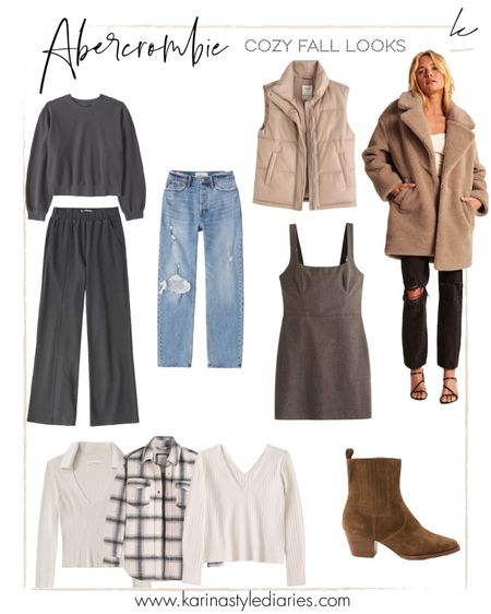 Abercrombie sale - 25% off site-wide (exclusions apply) getting ready for fall and shopping for coats and booties! Use code LTKAF2021  #LTKSale #LTKunder100 #LTKshoecrush