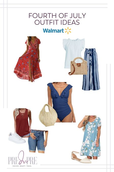 Fourth of July outfit ideas perfect for the summer and celebration. Download the LIKEtoKNOW.it app to shop this pic via screenshot    http://liketk.it/3iS73   Summer outfit, summer casual outfits, summer fashion 2021, summer faahion, casual summer looks, summer looks #LTKstyletip #LTKunder50 #LTKunder100 #LTKitbag #LTKswim #LTKshoecrush #LTKtravel #LTKsalealert @liketoknow.it #liketkit