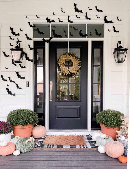 Easy porch Halloween decor🎃  #LTKSeasonal #LTKHoliday #LTKhome